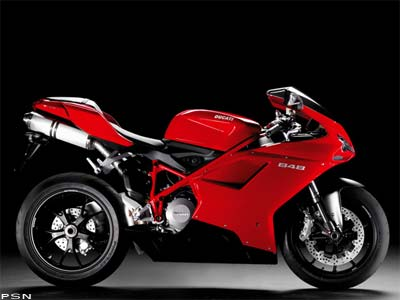 2008 Ducati Superbike 848 Motorcycles from BMW-Ducati-Triumph-MV Agusta MC