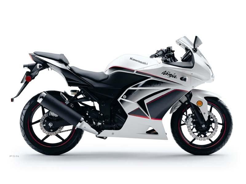Kawasaki Ninja 250r White. 2011 Kawasaki Ninja® 250R